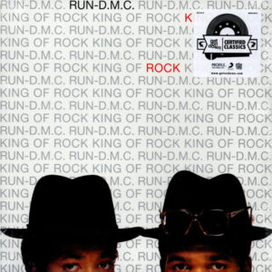 Run DMC – King Of Rock (Vinyl LP, USA Import)