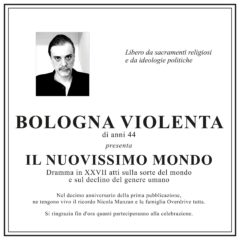 Bologna Violenta – Il nuovissimo mondo (2020 Edition)
