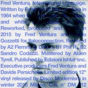 Fred Ventura –  International Language
